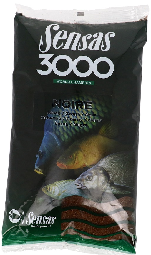 Krmení 3000 Noire (plotice-černé) 1kg