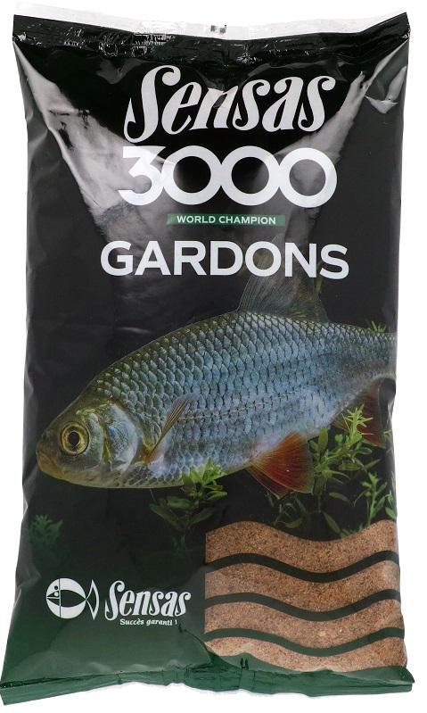 Krmení 3000 Gardons (plotice) 1kg