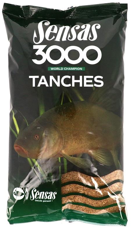 Krmení 3000 Tench (lín) 1kg