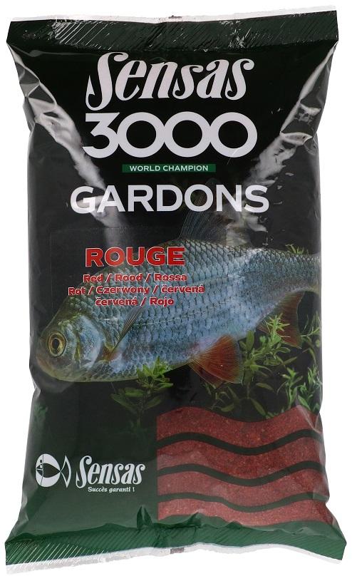 Krmení 3000 Gardons Red (plotice-červené) 1kg