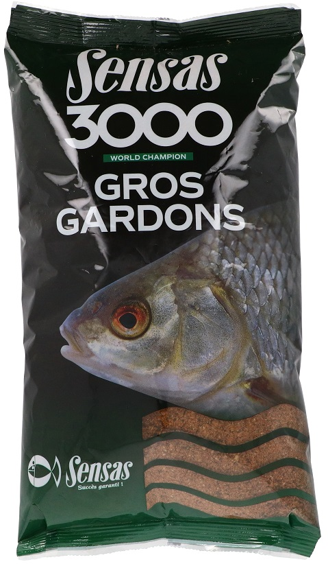 Krmení 3000 Gros Gardons (velká plotice) 1kg