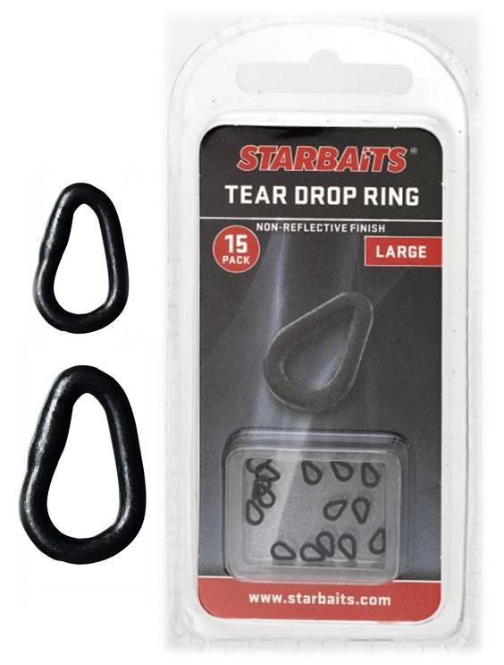 Tear Drop Ring Large kroužky slza velké (15ks)