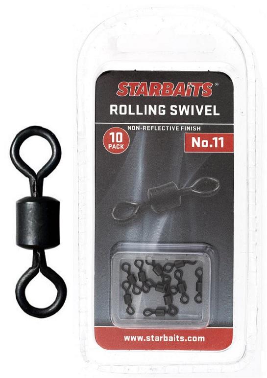 Obratlík - Rolling Swivel č.11 (10ks)