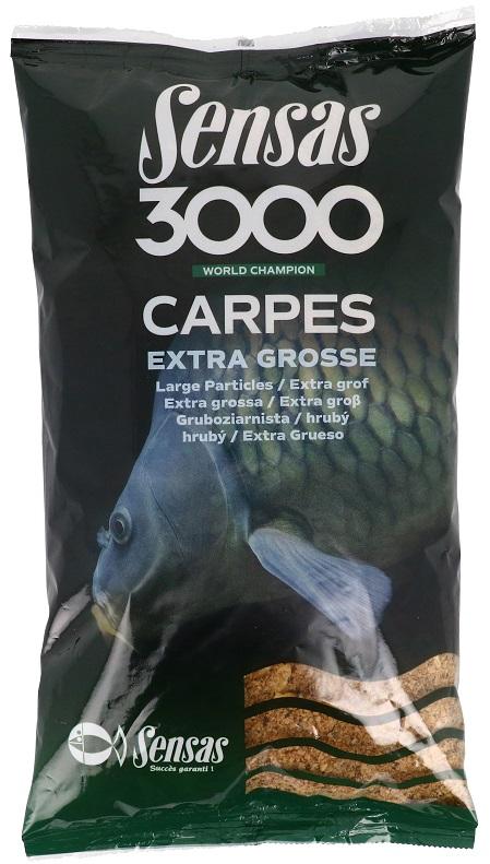 Krmení 3000 Carpes Extra Grosse (kapr hrubý) 3kg