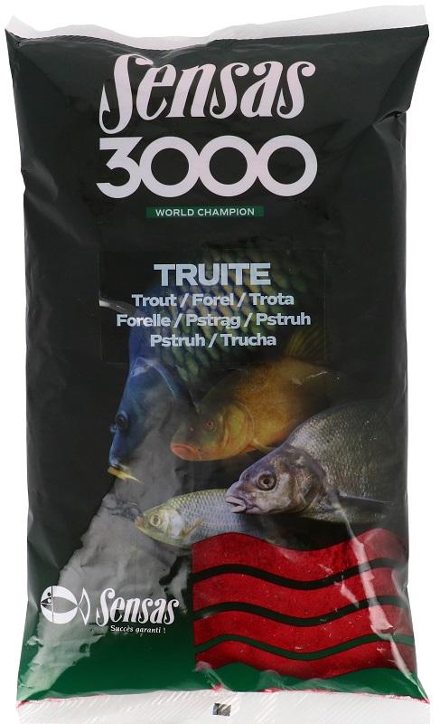 3000 Truites (krmení pstruh) 800g
