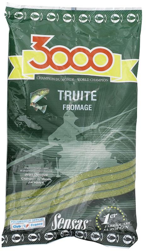 3000 Truites (krmení pstruh-sýr) 800g