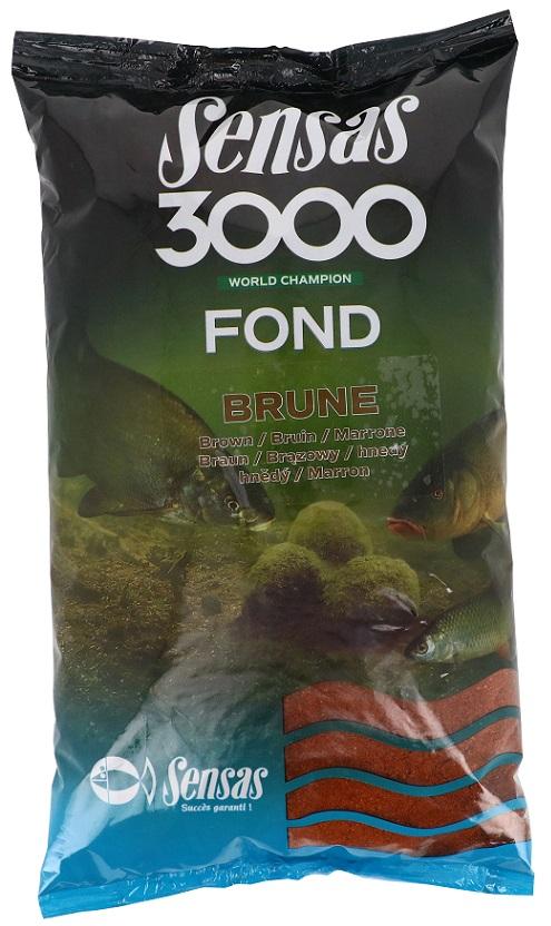 Krmení 3000 Fond Brown (řeka-hnědé) 1kg