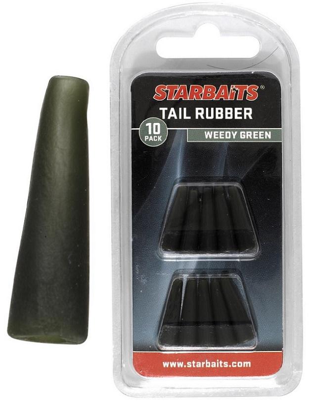 Tail Rubbers zelená (převleky) 10ks