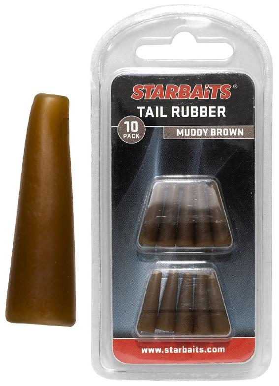 Tail Rubbers hnědá (převleky) 10ks
