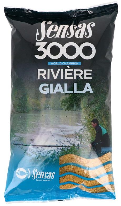 Krmení 3000 Gialla (velká ryba-ovoce) 1kg