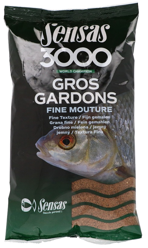Krmení 3000 Gros Gardons Fine (velká plotice-jemné) 3kg