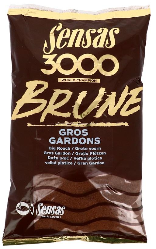 Krmení 3000 Brune Gross Gardons (velká plotice-hnědá) 1kg
