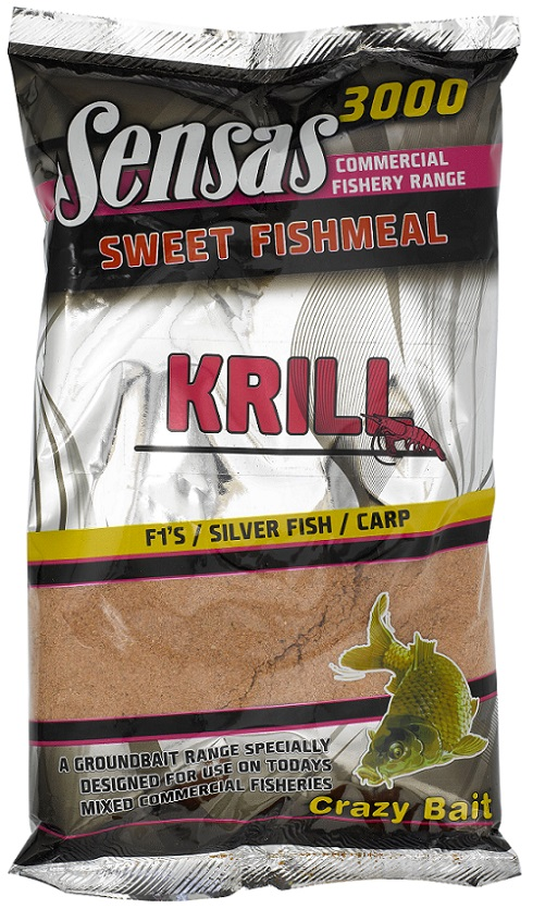 Krmení 3000 Sweet Fishmeal UK KRILL 1kg