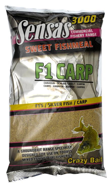 Krmení 3000 Sweet Fishmeal UK F1 CARP 1kg