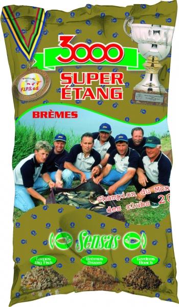 Krmení 3000 Super Etang Bremes (jezero-cejn) 1kg
