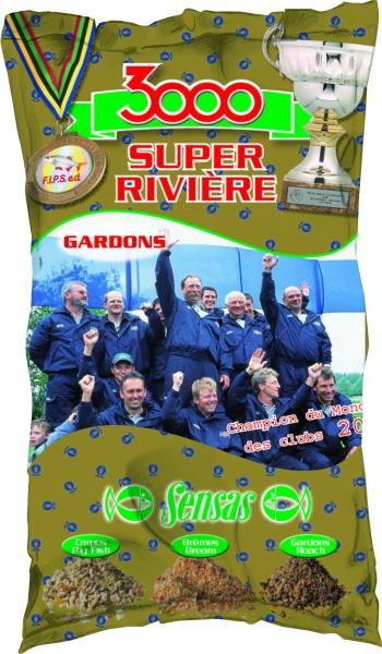 Krmení 3000 Super Riviere Gardon (řeka-plotice) 1kg