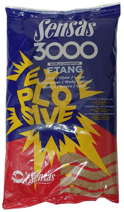 Krmení 3000 Explosive Etang (jezero) 1kg