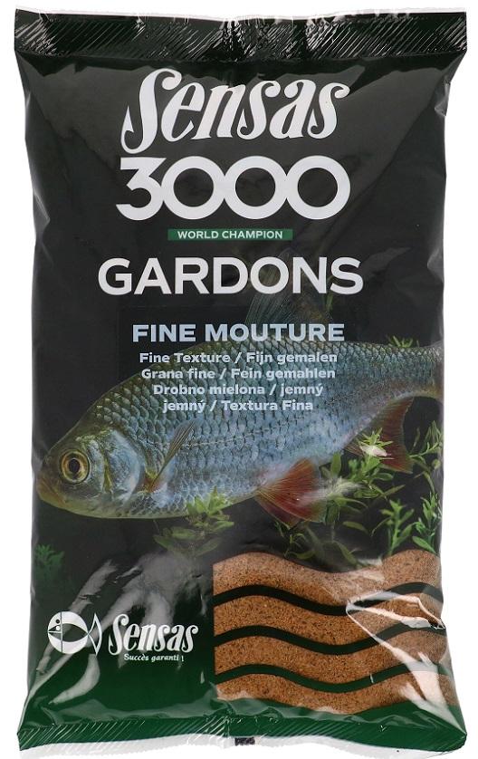 Krmení 3000 Gardons Fine (plotice-jemné) 1kg