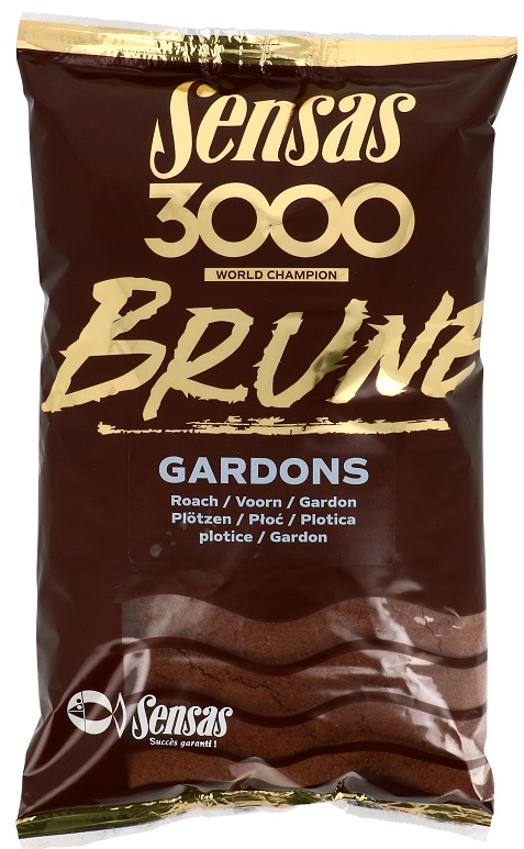 Krmení 3000 Brune Gardons (plotice-hnědá) 1kg