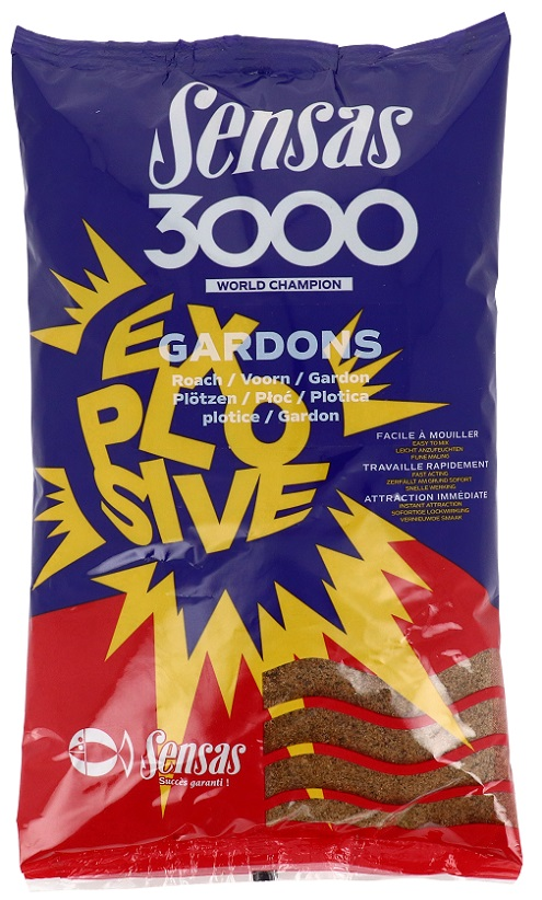 Krmení 3000 Explosive Gardons (plotice) 1kg