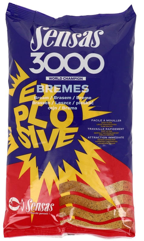Krmení 3000 Explosive Bremes (cejn) 1kg