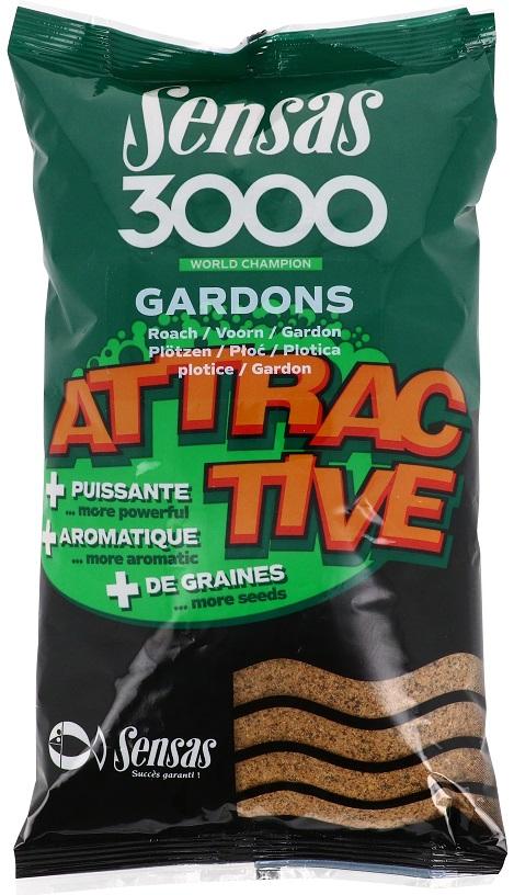 Krmení 3000 Attractive Gardon (plotice) 1kg