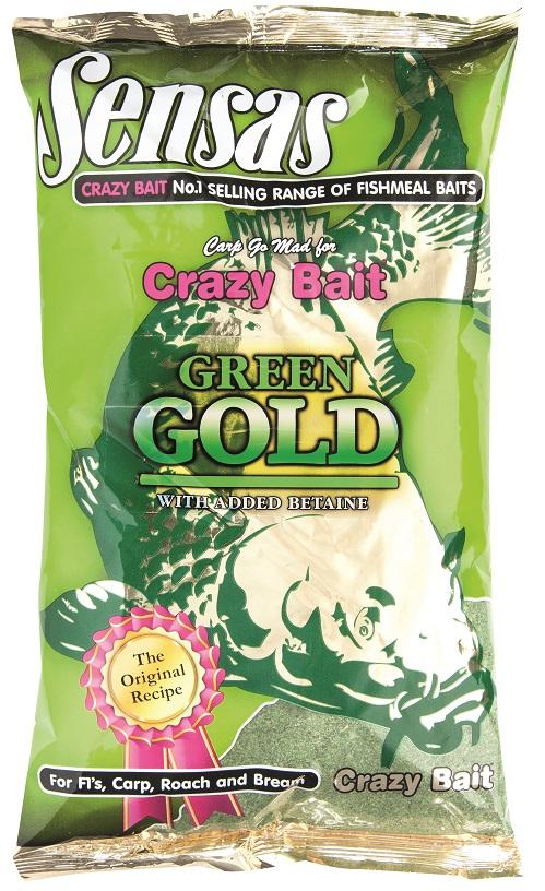 Krmení CRAZY BAIT GOLD GREEN 1KG