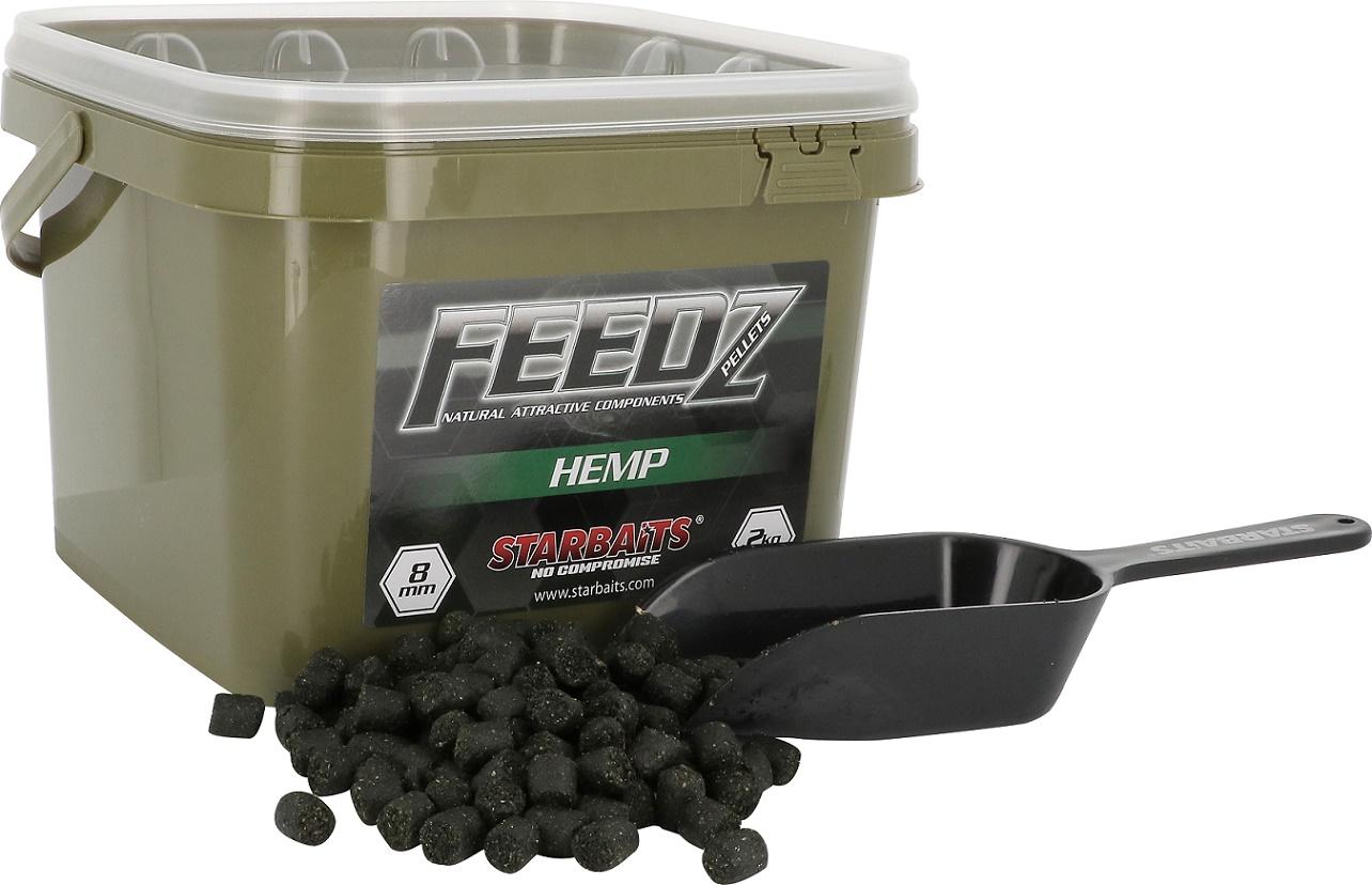 FEEDZ Pelety HEMP 8mm 2kg