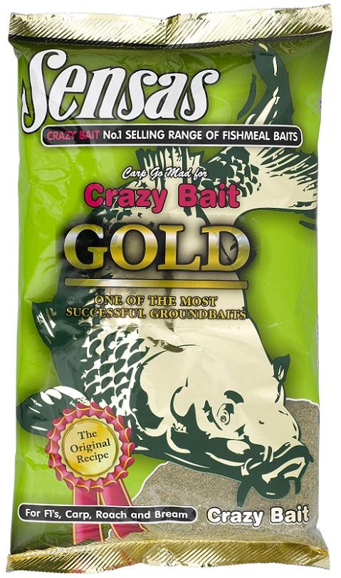 Krmení CRAZY BAIT GOLD 1KG
