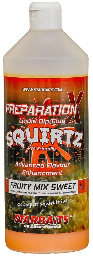 Booster PREP X SQUIRTZ FRUITY MIX SWEET 1L