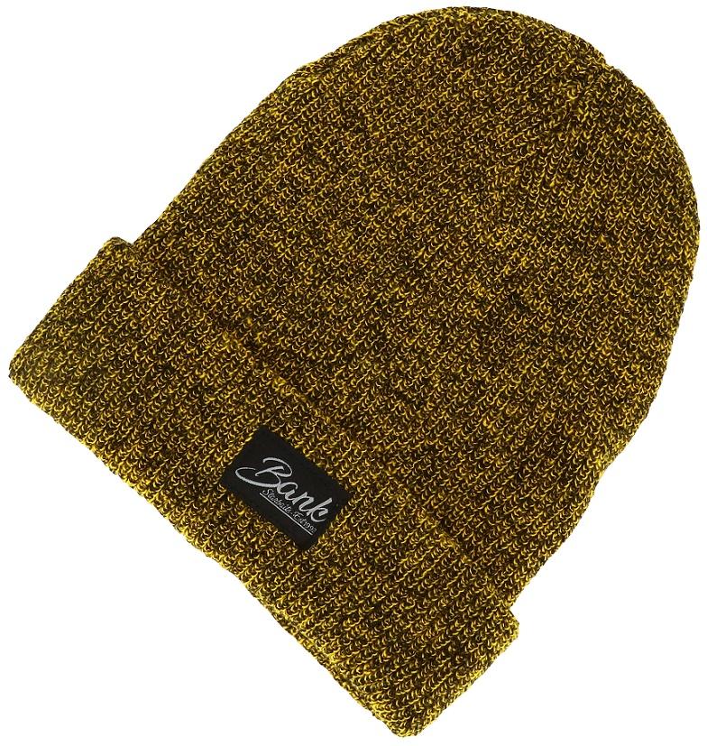 Zimní čepice Starbaits Bank Heritage Beanie Mustard