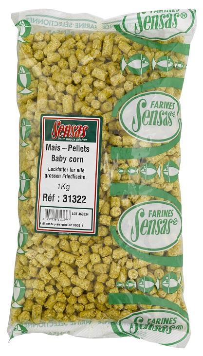 Kukuřičné pelety Baby Corn 1kg