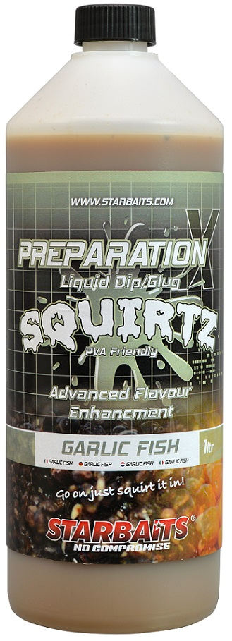 Booster PREP X SQUIRTZ GARLIC FISH 1L