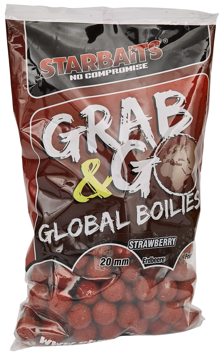 Global boilies STRAWBERRY JAM 20mm 1kg