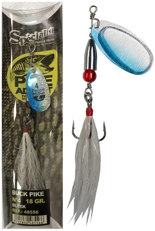 Rotačka Buck Pike 20g Bleak