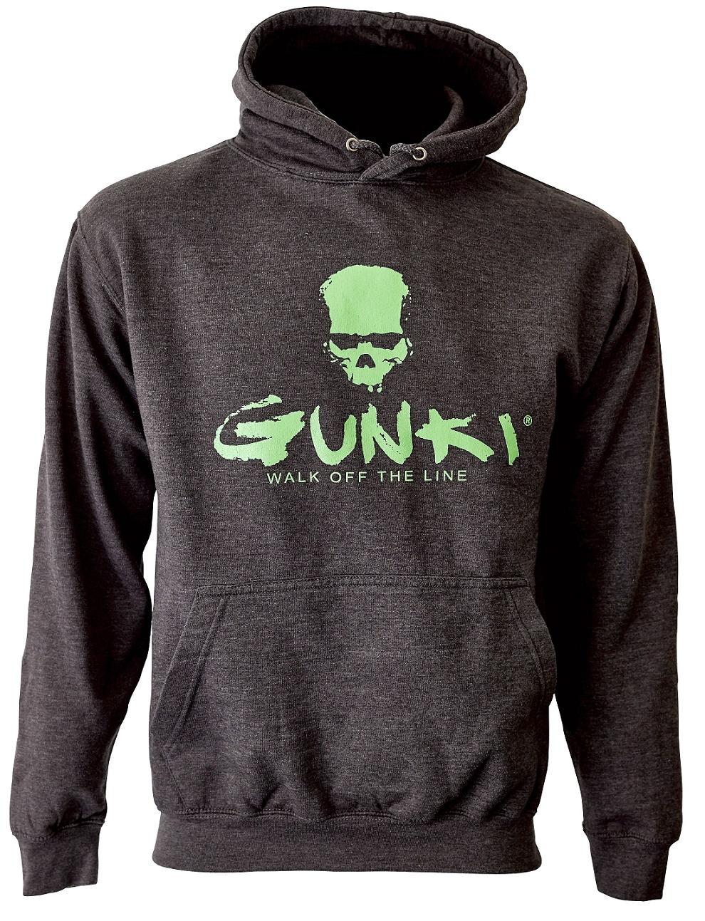 Mikina s kapucí Gunki DARK SMOKE XL