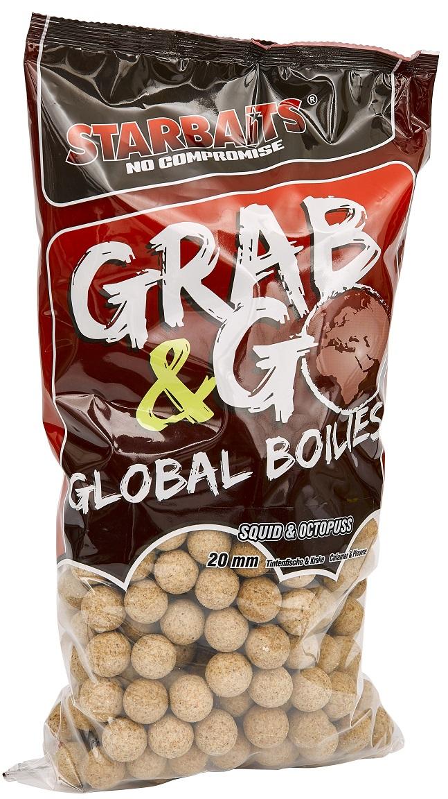 Global boilies SQUID & OCTOPUS 20mm 2,5kg