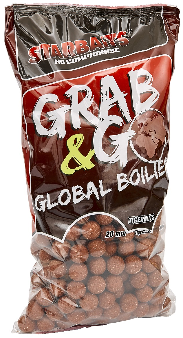 Global boilies TIGERNUT 20mm 2,5kg