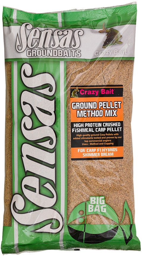 Krmení Big Bag Ground Pellet Method 2kg