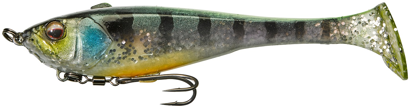 Dunkle 15cm Chartreuse Strike Gill