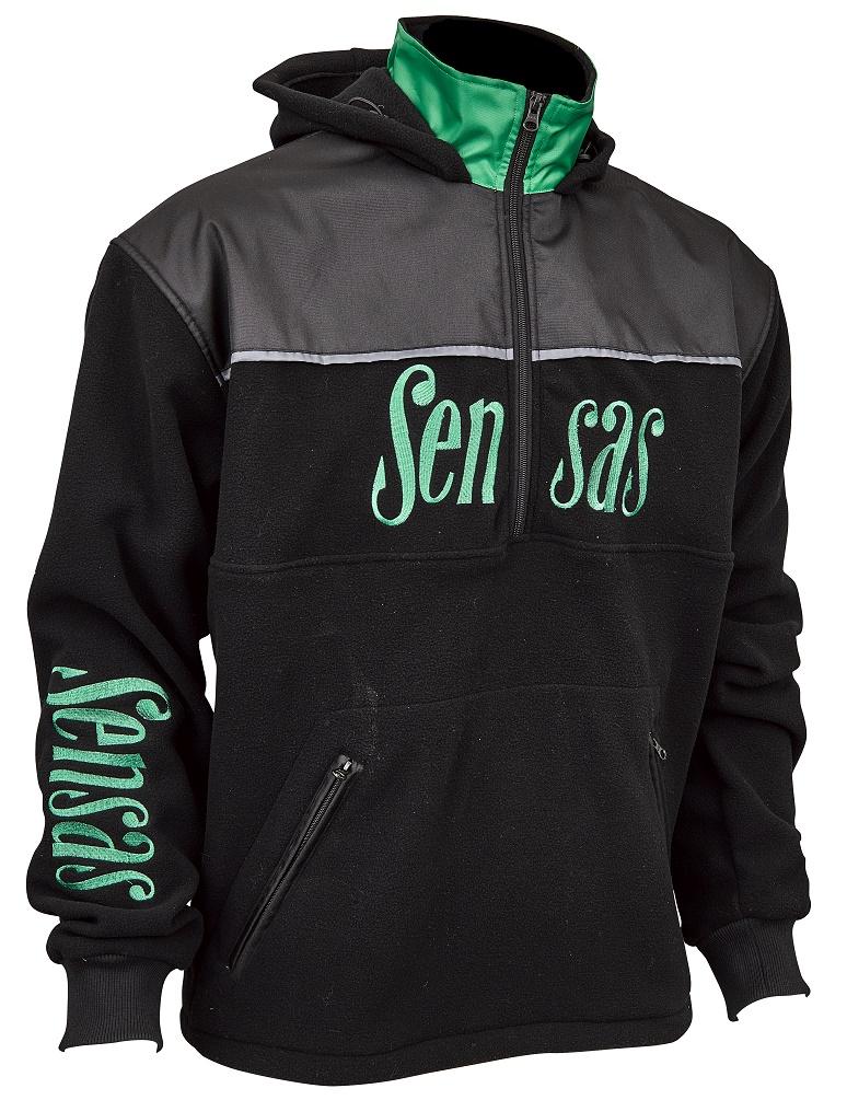 Bunda Club Bicolore Black & Green S