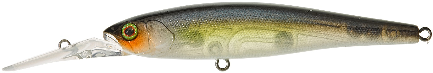 Dowzvido 9cm SP Ghost Chartreuse Shad