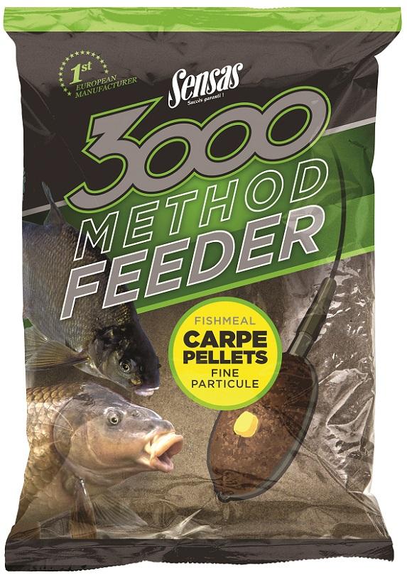 Krmení 3000 Method Carpe Pellets 1kg