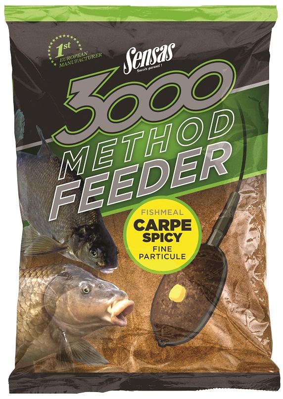 Krmení 3000 Method Carpe Spicy 1kg