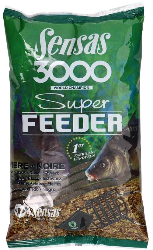 Krmení 3000 Super Feeder River Black 1kg