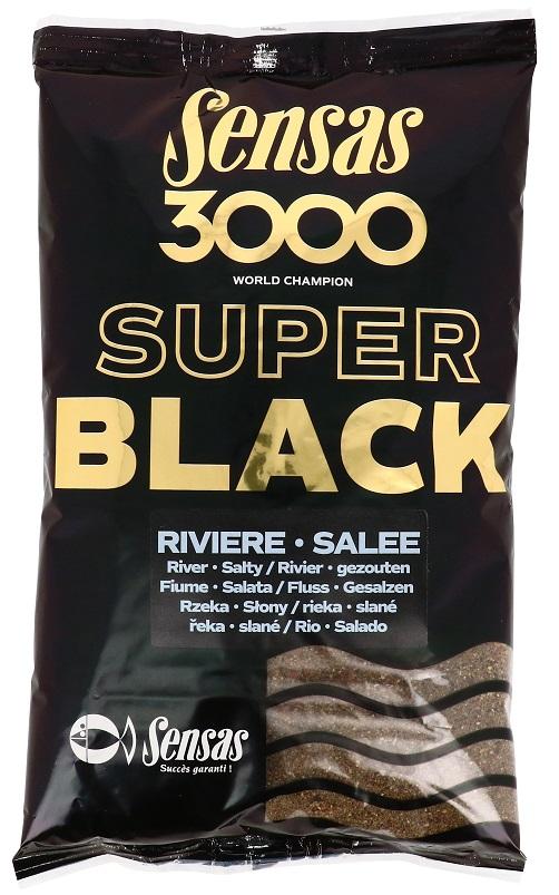 Krmení 3000 Dark Salty Riviere (řeka-černá-slaná) 1kg