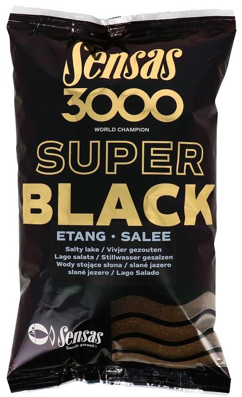 Krmení 3000 Dark Salty Etang (jezero-černé-slané) 1kg