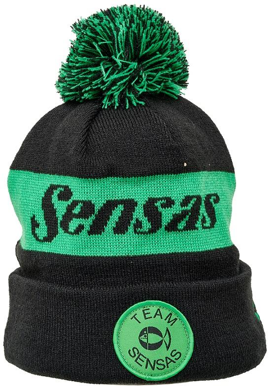 Zimní čepice TEAM zelená