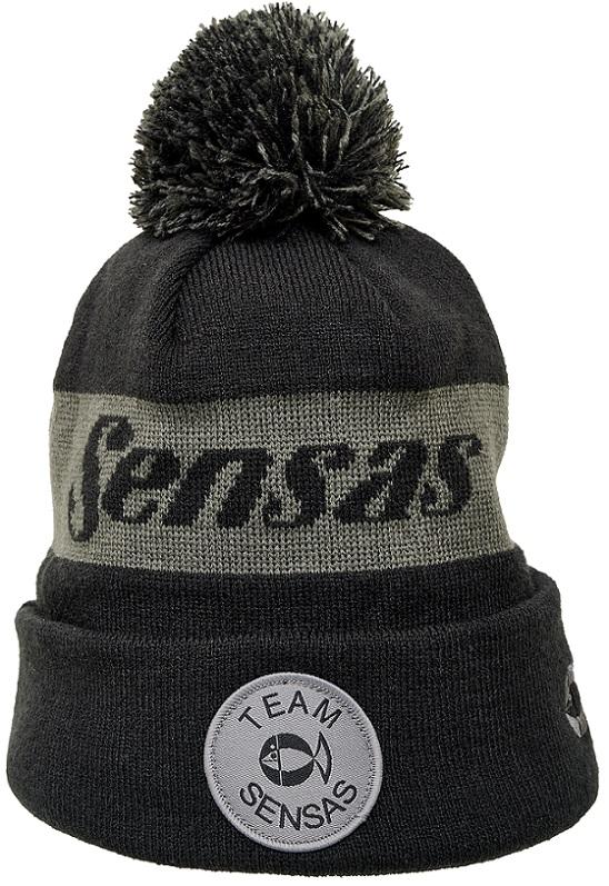 Zimní čepice TEAM šedá