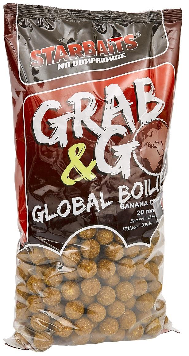 Global boilies BANANA CREAM 20mm 2,5kg